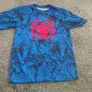 Boy's Spiderman Top Size 10/12(L)